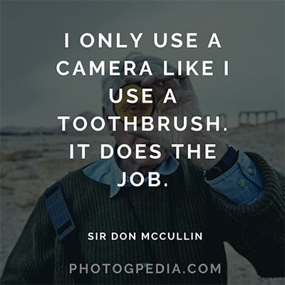 Don McCullin Quote