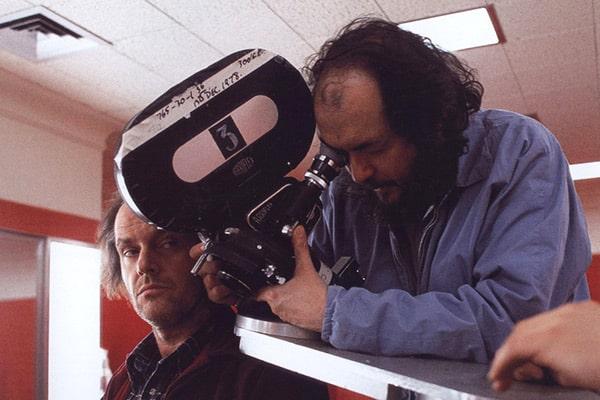 Kubrick and Nicholson, The Shining