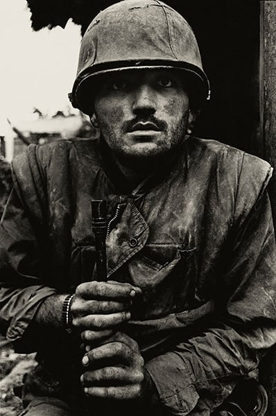 Shell Shocked Soldier, Don McCullin, Vietnam
