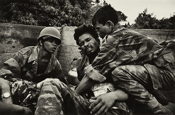Cambodian Paratrooper, McCullin, 1970
