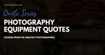 photography equipment quotes