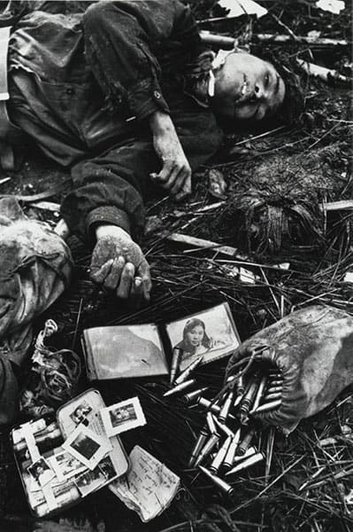 Vietnam Dead Soldier, Posessions, Don McCullin