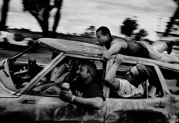 Minutes to Midnight, Trent Parke, Races