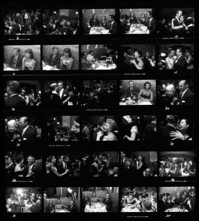 Garry Winogrand Contact Sheet