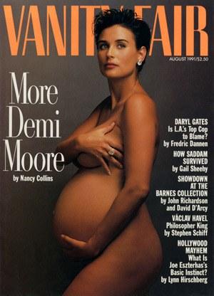 Demi Moore, Annie Leibovitz