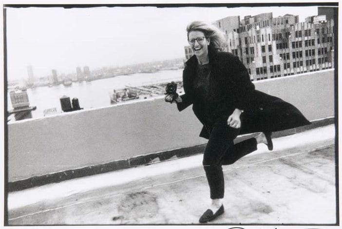Annie Leibovitz Self-Portrait