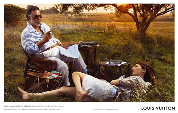 Francis Ford and Sofia by Annie Leibovitz