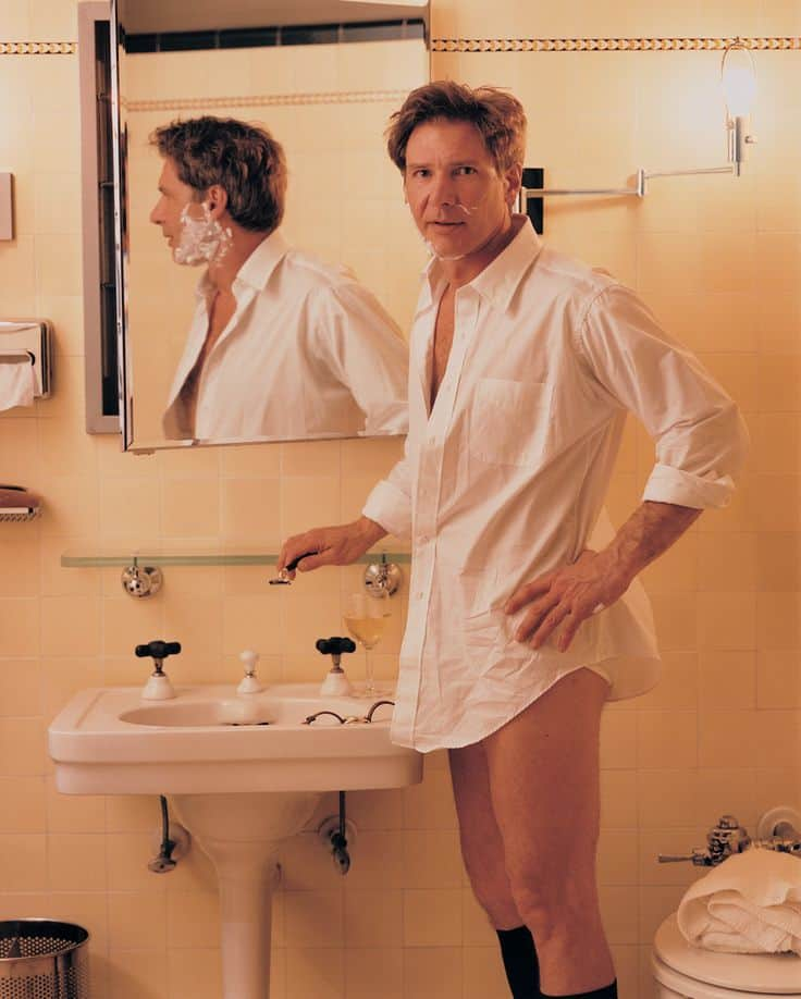 Harrison Ford by Annie Leibovitz