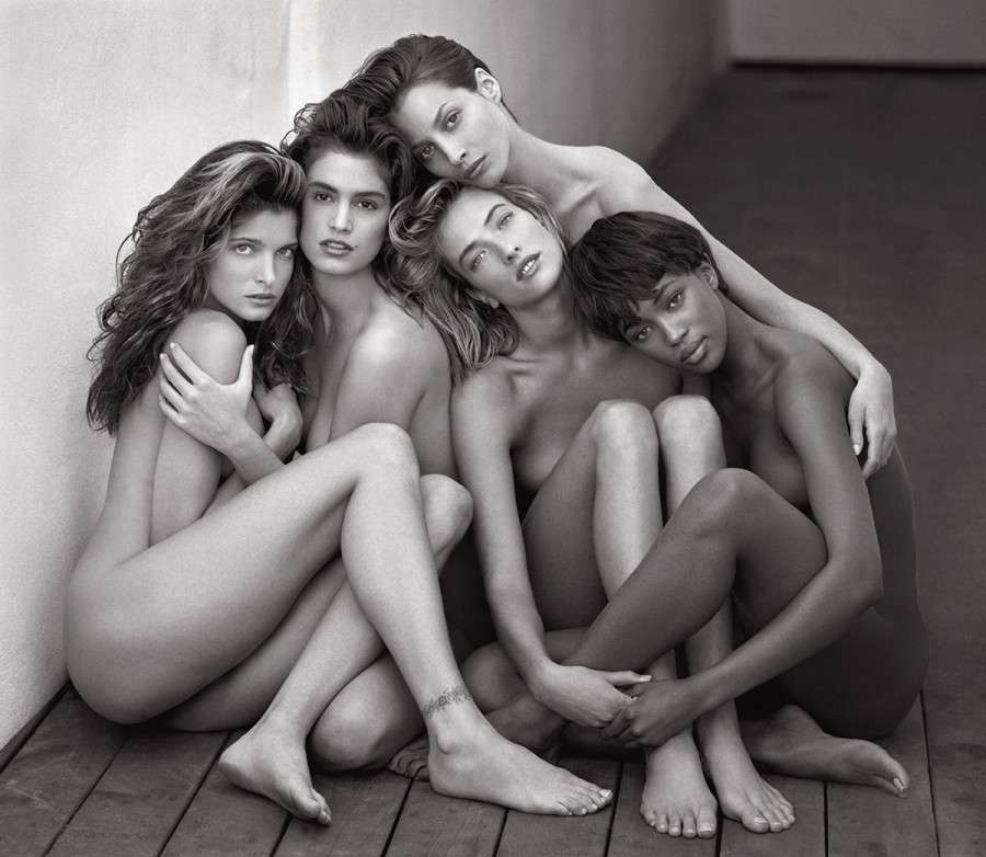 Herb Ritts, Supermodels 1989