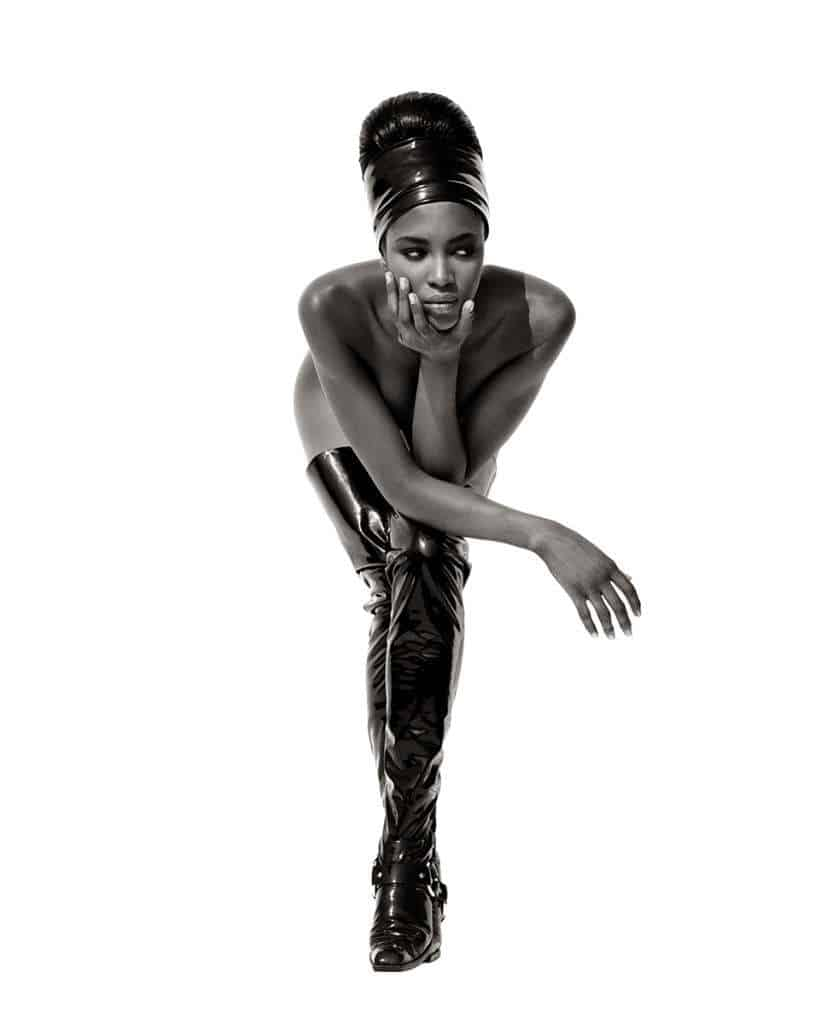 Naomi Campbell by Herb Ritts, 1990