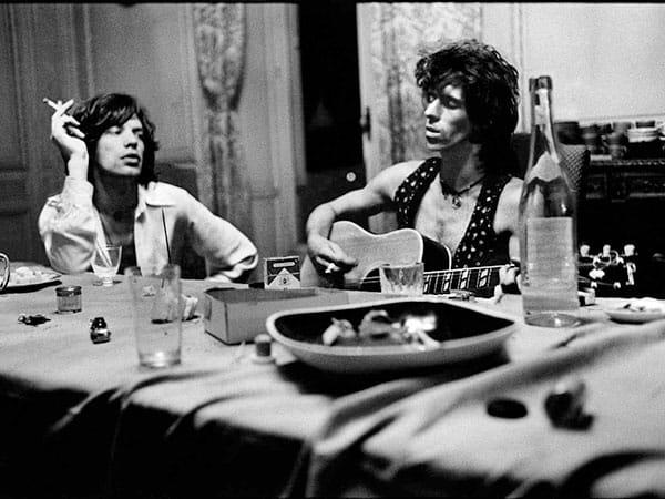 Annie Leibovitz, Rolling Stones 1975
