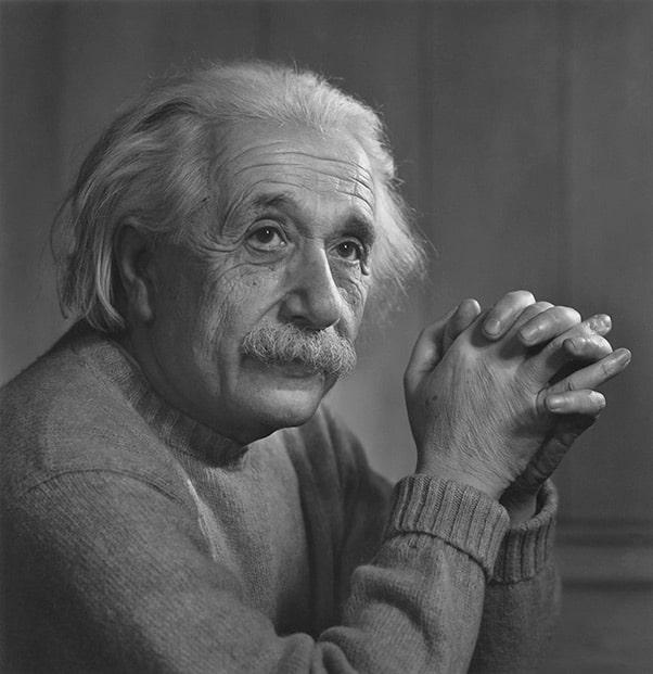 Yousuf Karsh Einstein