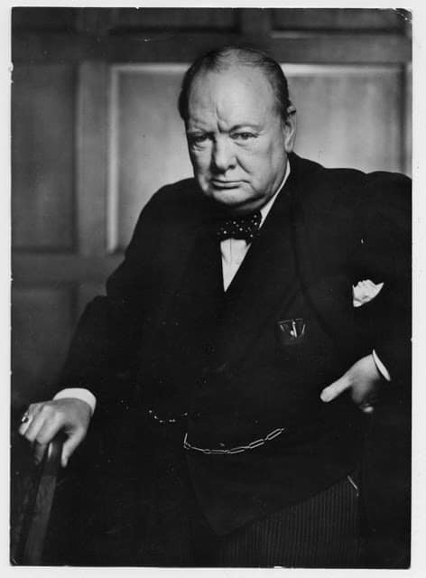Yousuf Karsh Churchill