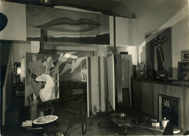 Man Ray Studio, 1939