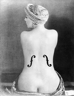 Violin of Ingres, Man Ray