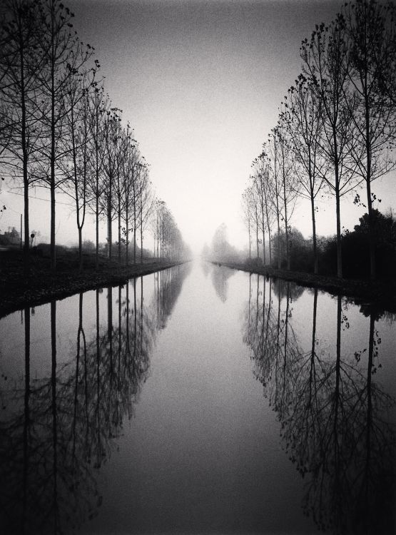 French Canal, Michael Kenna