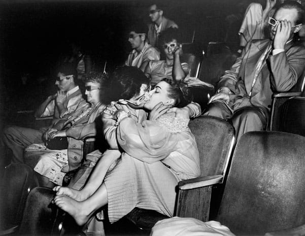 Weegee, Lovers at Theatre