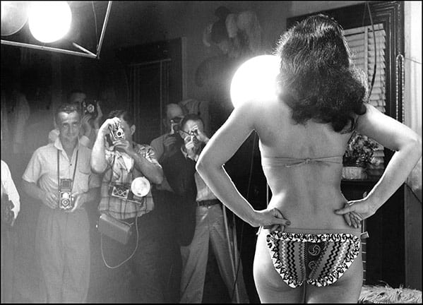 Weegee, Bettie Page