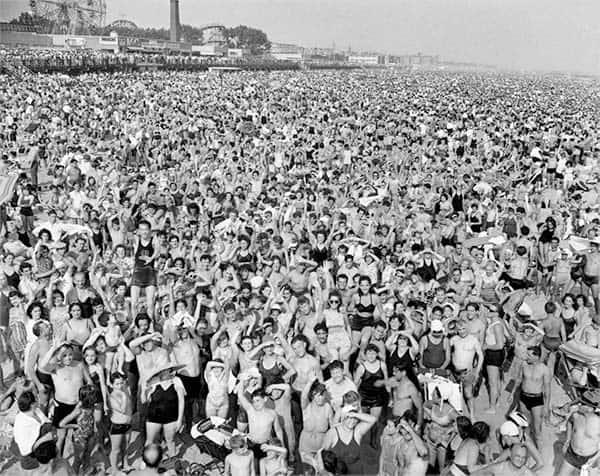 Weegee, Coney Island
