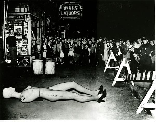 Weegee, Unusual Crime