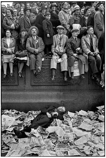 Henri Cartier-Bresson King George