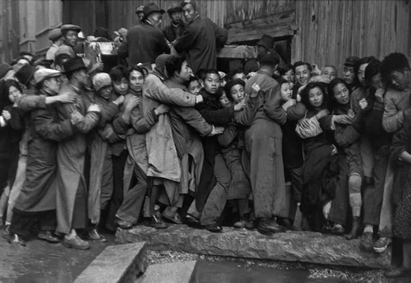 Henri Cartier-Bresson, Gold Rush. Shanghai
