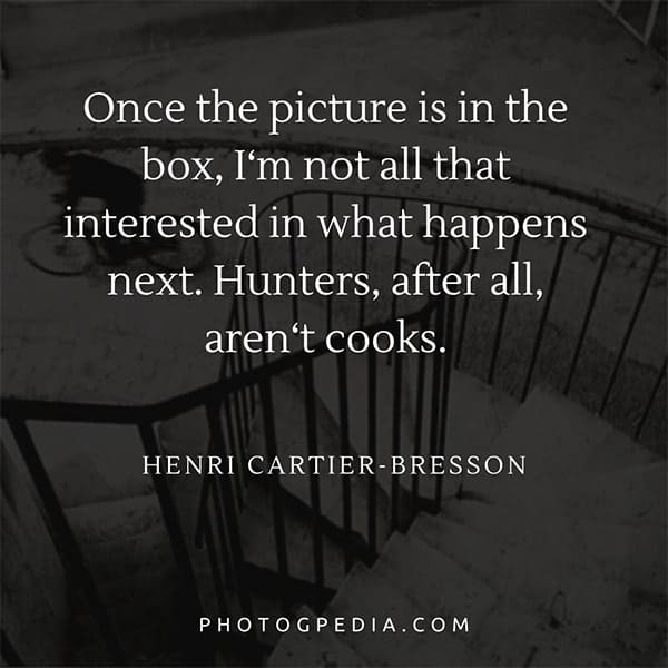 Henri Cartier-Bresson Quotes 5