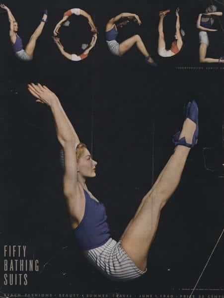 Vogue 1940 Cover, Horst