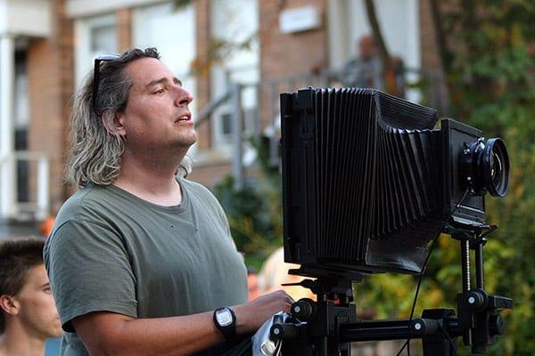 Gregory Crewdson, Sinar Camera