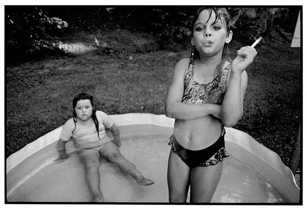 Amanda and Amy, Mary Ellen Mark