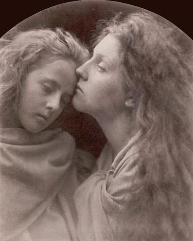 The Kiss, Julia Margaret Cameron