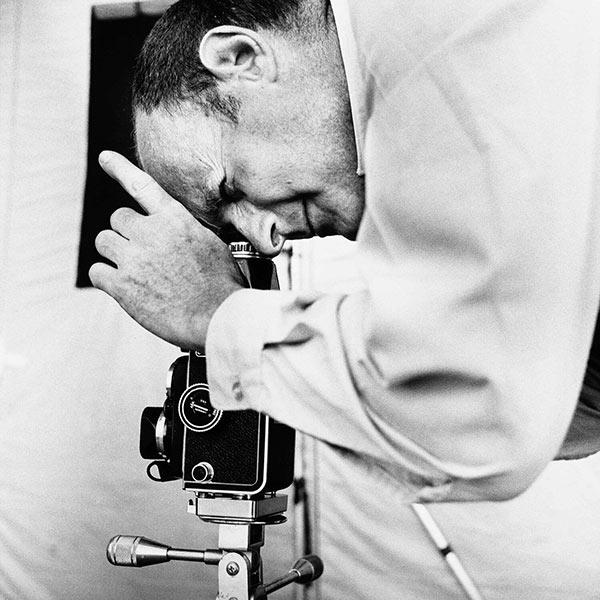 Irving Penn at work