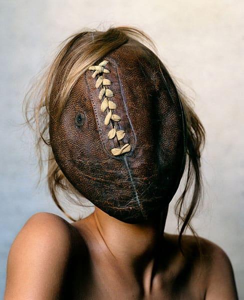 Football Face, Irving Penn