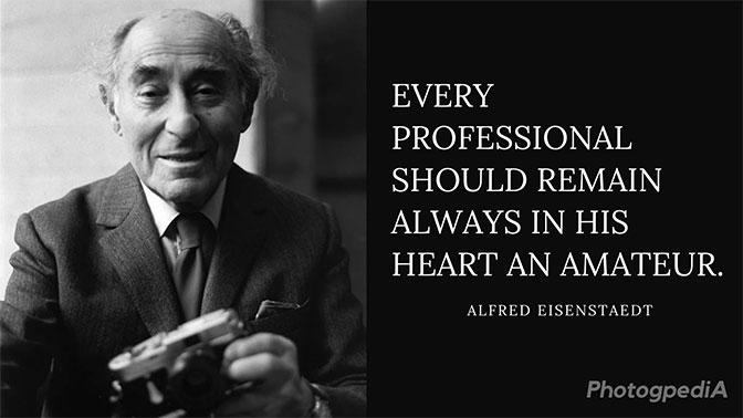 Alfred Eisenstaedt Quotes 1