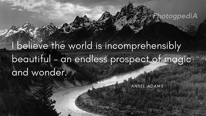 Ansel Adams Quotes 1