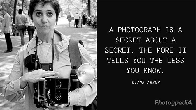 Diane Arbus Quotes 1