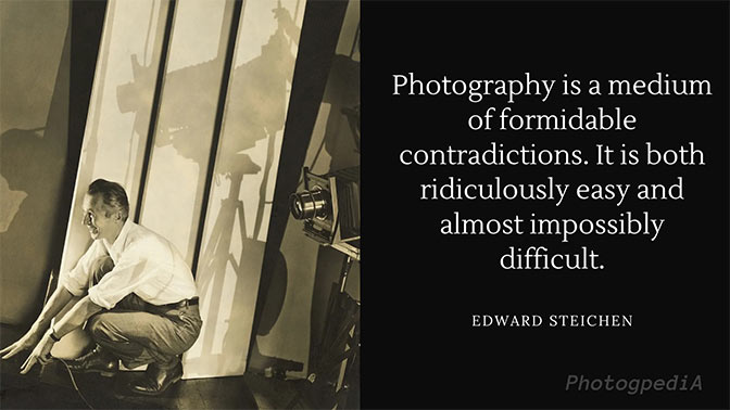 Edward Steichen Quotes 1