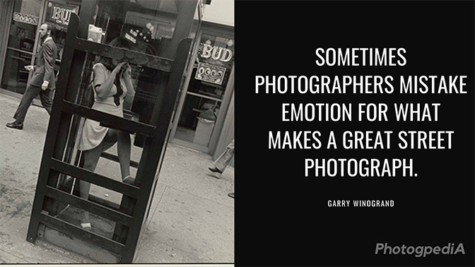 Garry Winogrand Quotes 2