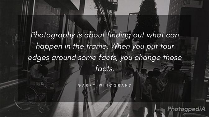 Garry Winogrand Quotes 1