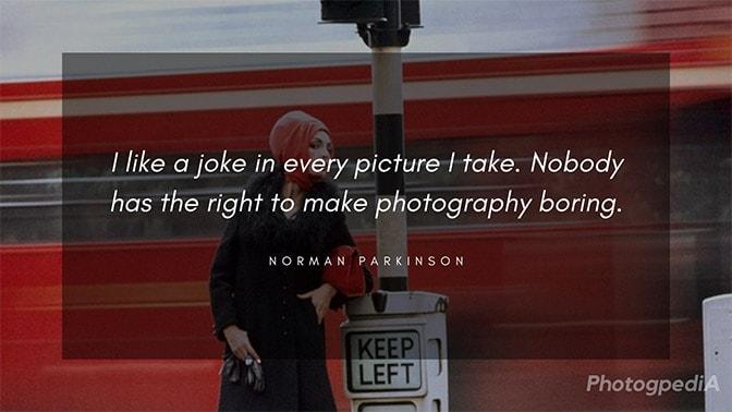 Norman Parkinson Quotes 2