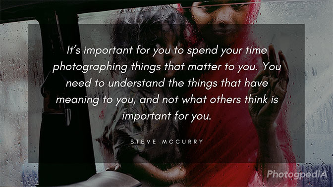 Steve McCurry Quotes 3