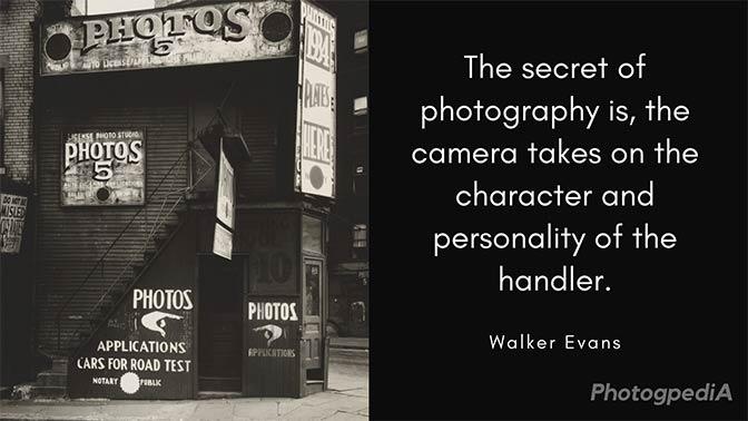 Walker Evans Quotes 1