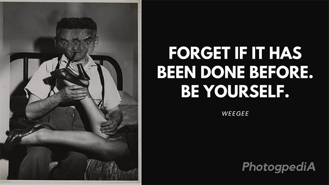 Weegee Quotes 1