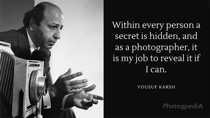Yousuf Karsh Quotes 1