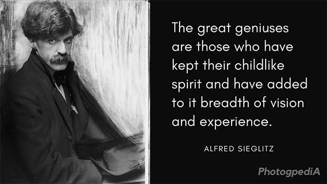 Alfred Stieglitz Quotes 1