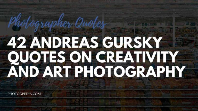 Andreas Gursky Quotes