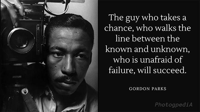 Gordon Parks Quotes 1