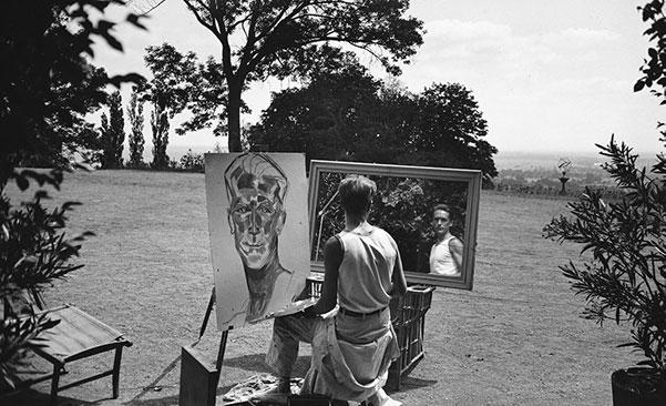 Jacques-Henri Lartigue, Self-Portrait