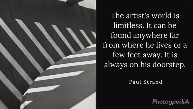 Paul Strand Quotes 2