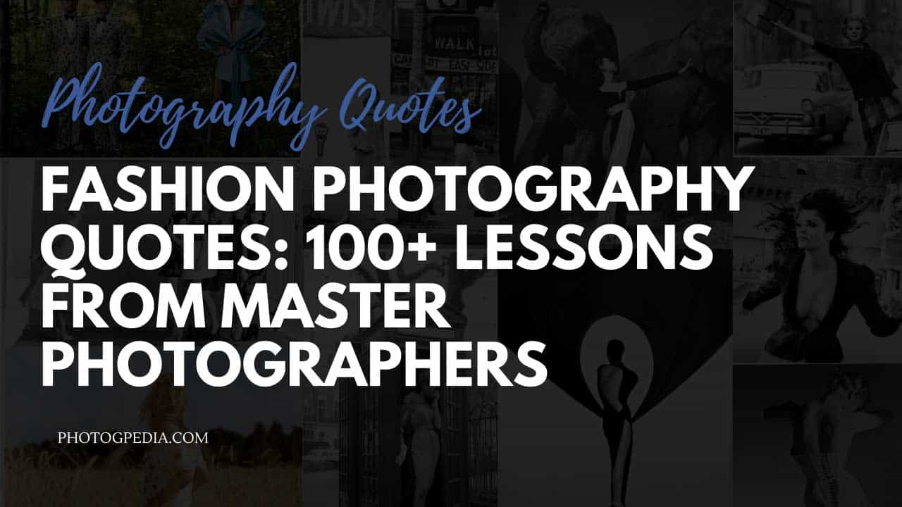Fashion Photography Quotes
